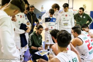 gara AURORA BRINDISI – time – out di coach Claudio Centrone